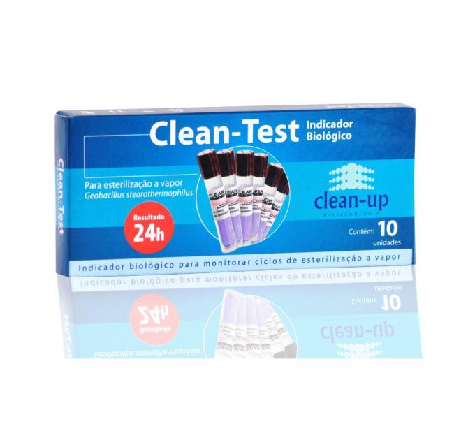 Indicador Biológico Clean Test - Clean Up