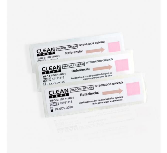 Indicador Químico Classe 5 Clean Test - Clean Up