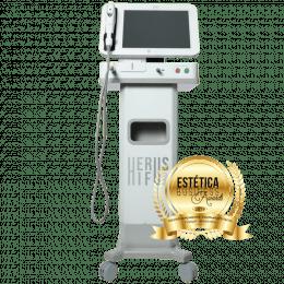 Herus Hifu Aparelho de Ultrassom Microfocado Com 3 cartuchos - Fismatek